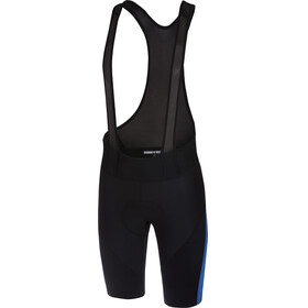 Castelli Velocissimo IV Bibshorts Men black/surf blue